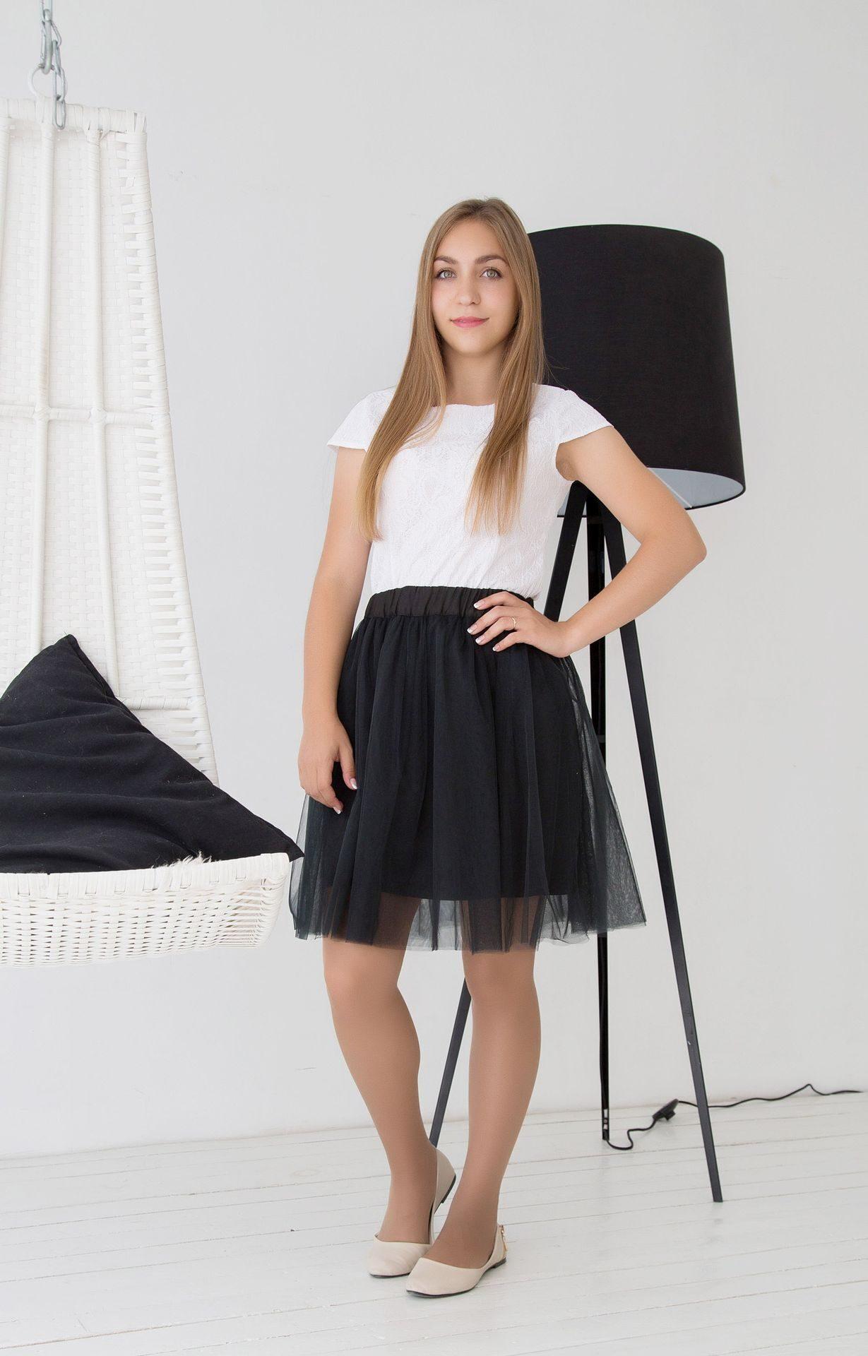 Купить юбку в школу пышные
